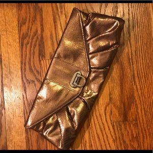 Copper Colored Clutch Purse